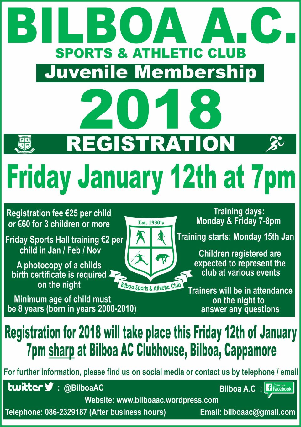 Bilboa AC Juvenile Registration Flyer 08-01-18 (1)
